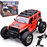 RC Cars Off-Road Remote Control Car 4WD 2.4Ghz Radio RC Rock Racer Electric Car 1/14 Scale RTR Hobby Toy, Remote Control Truc