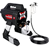 Airless Paint Sprayer 3200 PSI High Pressure Paint Sprayer 2.3L/Min Spray Paint with 8m Hose for Home, Fence, Shed, Garage an
