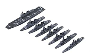 フジミ模型 1/3000 集める軍艦シリーズ No.33 海上自衛隊第4護衛隊群 プラモデル 軍艦33