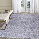 HEBE Cotton Area Rug Set 2 Piece 2'x3'+2'x4.2' Woven Cotton Area Rugs Runner Machine Washable Cotton Rug with Fringe Tassel f