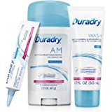 Duradry 3-Step Protection System - Prescription Strength Antiperspirant Deodorants Specially Formulated For Excessive Sweatin