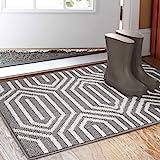 """Indoor Doormat 24""""x 36"""", Absorbent Front Back Door Mat Floor Mats, Rubber Backing Non Slip Door Mats Inside Mud Dirt Trapper"""