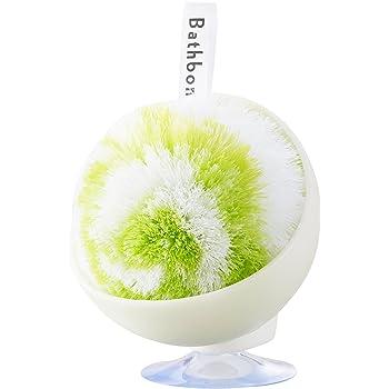 山崎産業 バスボンくん 洗面台 スッキリポンポン 抗菌ケース付 グリーン 178827 178827