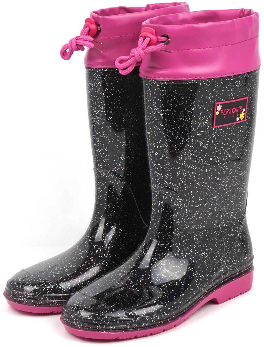 76a06ea1f2047  セレブル  (パーソンズキッズ) PERSON S KIDS レインブーツ キッズ 長靴 女の子 子供靴