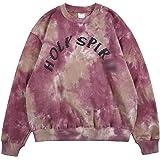 Kanye Holy Sweatshirt Men Crewneck Sweatshirt Tie Dye Hip Hop Sweatshirt Hoodie Unisex