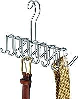 InterDesign Classico Tie/Belt Rack, Chrome