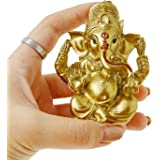 BangBangDa Hindu Lord Ganesha for Car Dashboard - Indian Mini Ganesh Statue Decor - India Pooja Murti Ganpati Idols