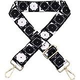 Teeoff Cross body Handbag Purse Strap クロスボディハンドバッグ財布ストラップワイドショルダーストラップ調整式交換ベルトギタースタイル
