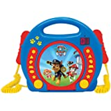 Lexibook RCDK100PA Paw Patrol CD Player with 2 Microphones