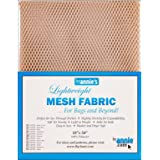 Annie Lightweight Natural Mesh Fabric LTWT 18x54, 54 Inches