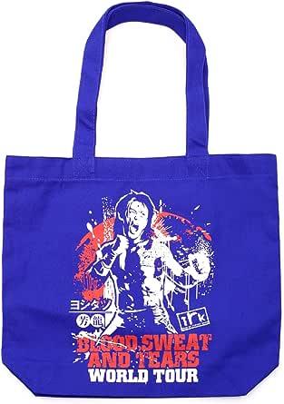 ヨシタツ (YOSHITATSU) WORLD TOURトートバッグ (ブルー)