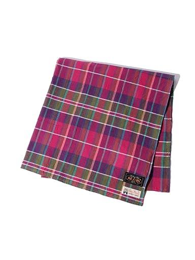 Madras Scarf 11-45-0437-139: Purple