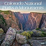 Colorado National Parks & Monuments 2021 12 x 12 Inch Monthly Square Wall Calendar, USA United States of America Scenic Natur