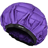 Cordless Deep Conditioning Heat Cap - Safe, Microwavable Heat Cap for Steaming, Heat Therapy for Hair, Flaxseed Seed Interior