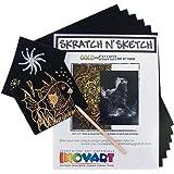 "Inovart 1108 Scratch Paper, 8.5"" x11"", Multicolor"