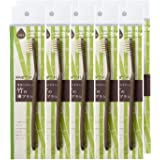 【FINE ファイン】FINEeco41 竹の歯ブラシ 天然毛タイプ 10本セット