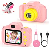 VATENIC Kids Toys Birthday for 3-10 Year Old Boys Girls, Kids Camera 1080P 2inch HD Children Digital Cameras for Girls,Toddle
