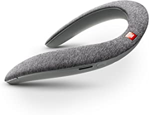 JBL SoundGear ウェアラブル ネックスピーカーBluetooth/apt-X 対応/31mm径スピーカー4基搭載 グレー JBLSOUNDGEARGRY 【国内正規品/メーカー1年保証付き】