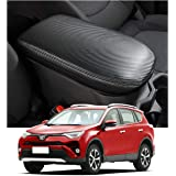 Rav4 Interior Accessories,Armrest Cover Protector Compatible for Toyota Rav4 2019-2020,Keep Your Armrest in a More Comfortabl