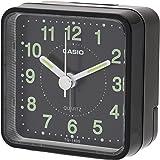CASIO(カシオ) 目覚まし時計 ブラック 直径6.2cm アナログ ミニサイズ TQ-140S-1JF