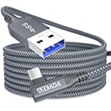 Oculus Quest 2 Link Cable 20Feet(6m),AkoaDa USB A to Type C 3.0 5Gbps VR High Speed Data Transfer & Charging Cable with Signa