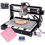 Cenoz Upgrade CNC 3018 Pro GRBL Control DIY CNC Machine,3 Axis PCB PVC Milling Engraving Machine,Wood Router Engraver XYZ Wor