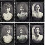 Halloween Decoration 3D Changing Face Moving Picture Frame Portrait Horror Decoration for Horror Party Castle House Home Deco