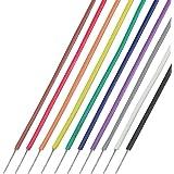 協和ハーモネット UL1429 AWG28 耐熱架橋ビニル電線 2mX10色 茶赤橙黄緑青紫灰白黒