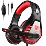 ENVEL Noise Cancelling Gaming Headset with 7.1 Surround Sound Stereo for PS4/Nintendo eShop Switch,Omnidirectional Microphone