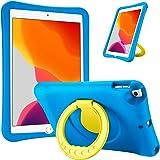 ProCase Kids Case for iPad 10.2 8th Gen 2020 / 7th Gen 2019 /iPad Air 10.5 3rd Gen/iPad Pro 10.5, Durable Shockproof Light We