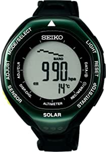 [セイコーウォッチ] 腕時計 プロスペックス アルピニスト ソーラー ハードレックス SBEB005 ブラック