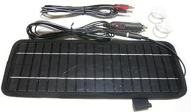 ソーラーバッテリーチャージャー 大出力4.5W/バッテリー充電器 250mA 18~20V