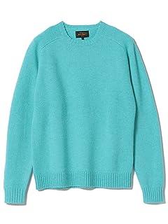 5 Gauge Wool Crewneck Sweater 11-15-0879-103: Saxe