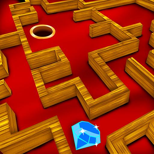 Jewel Precious Wood Labyrinth : 女の子の宝石箱 - ゴールド
