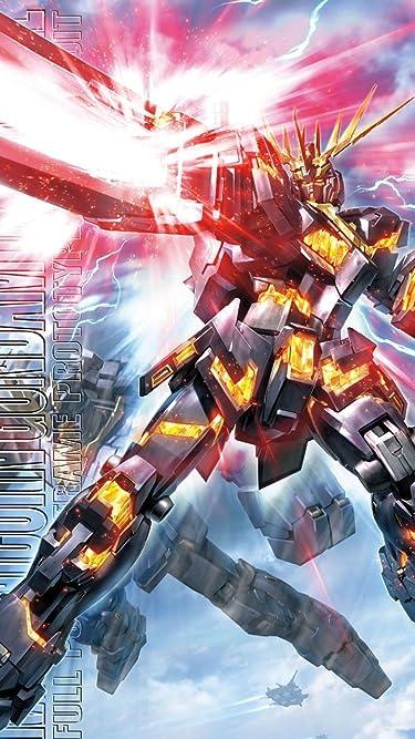機動戦士ガンダム  iPhone/Androidスマホ壁紙(720×1280)-1 - RX-0 ユニコーンガンダム2号機 バンシィ