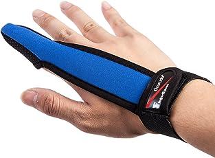 【オルルド釣具】フィンガープロテクター < 全力キャスト時に指をガード / ラインを掴む感覚を損なわずスムーズなキャスティングが可能 / 投げ釣り・キャスティングに最適> 1本指 指サック 手袋 qb500075