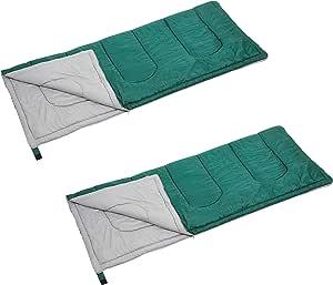 キャプテンスタッグ(CAPTAIN STAG) 寝袋 シュラフ 【最低使用温度15度】 封筒型シュラフ プレーリー 中綿量600g