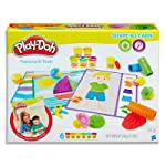Play Doh - Shape & Learn - Textures and Tools inc 6 cans & acc - Ages 2+