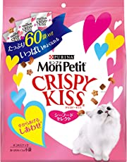 モンプチ クリスピーキッス シーフードセレクト 180g(3g×60袋) [猫用おやつ]