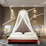 TIMBUKTOO MOSQUITO NETS Luxury Mosquito NET - for Single to King Size Beds Quick and Easy Installation System - Unique Intern