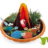 Dinosaur Habitat Grow and Glow, Dino Garden Craft Kit, DIY Painting Plant Set Indoor Outdoor Play, Activity Gardening Art Too