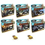 BUNDLE of All 6 Skull and Shackles Expansion Decks for Pathfinder Adventure Card Game Skull and Shackles Base Game and 2