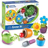 Learning Resources LER9244 New Sprouts Grow It! Playset (9 Piece)