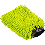 Chemical Guys Chenille Premium Scratch-Free Microfiber Wash Mitt, MIC493, Lime Green