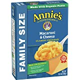 Annie's Classic Mild Cheddar Macaroni and Cheese, Family Size, 10.5 oz (Pack of 6)