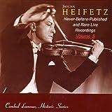 Jascha Heifetz Live, Vol. 5