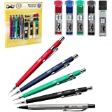 Mr. Pen- Mechanical Pencils, 5 Sizes 0.3, 0.5, 0.7, 0.9 and 2mm Drawing Pencils, Lead & Eraser Refills, Mechanical Pencil, Ar