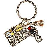 BIHRTC Wristlet Wallet Bracelet Keychain Multifunctional key Ring Card Holder
