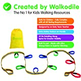 Childrens Walking Reins, Grab & Go (10 child). Premium Quality, Teacher Designed. Extra Safety Feature on Handles. Hi Viz Det
