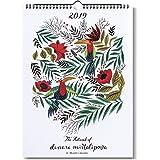 The Artwork of Dinara Mirtalipova Designer Wall Calendar